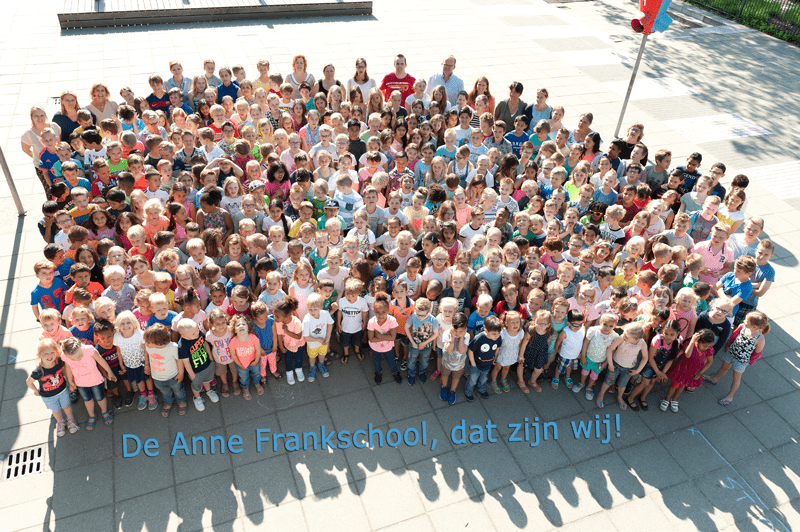 groeps foto Anne Frankschool